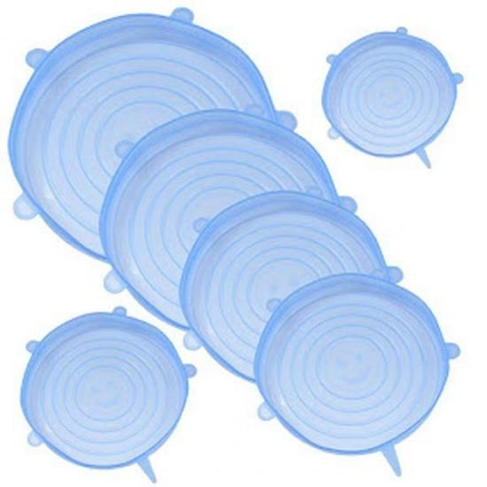 Set 6 capace flexibile din silicon, pentru caserole 1+1 GRATIS