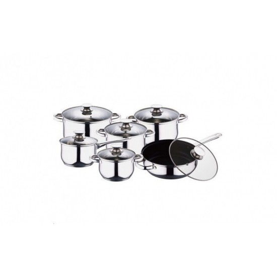 Set Oale din Inox 12 piese BL-1240TF BLAUMANN FOR YOUR HOME