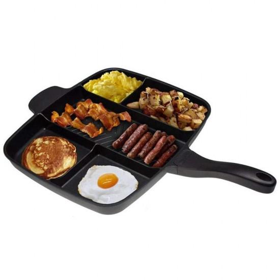 Tigaie inovativa multifunctionala Grill Magic Pan